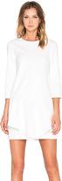 Tibi Agathe Ruffle Dress