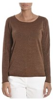 Altea Women's Brown Wool Jumper.