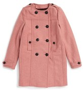 Burberry Girl's Antwood Peacoat