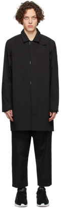 Descente Black Bal Collar Coat