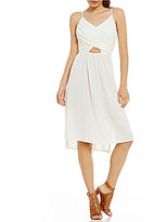 Roxy Good Resolution Cutout High-Low-Hem Dress