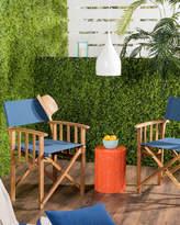 Safavieh Laguna Outdoor Folding Director Chairs, Set of 2