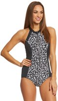 Reebok Women's Endless Energy High Neck One Piece Swimsuit 8151507