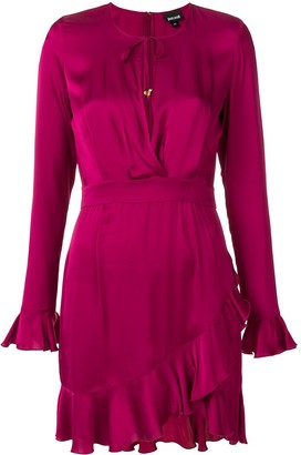 Just Cavalli ruffle trim dress