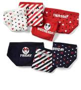 babyGap | Disney Baby Mickey Mouse and Minnie Mouse days-of-the-week bikini briefs (7-pack)