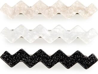 Tasha Set of 3 Wiggle Hair Clips