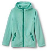 Classic Toddler Girls Softest Fleece Jacket-Silver