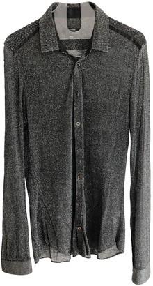Gucci Black Viscose Polo shirts