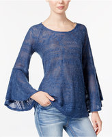Jessica Simpson Hyne Bell-Sleeve Sweater