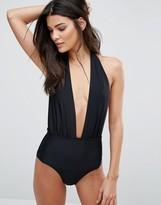 South Beach Deep Plunge Swimsuit