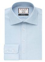 Thomas Pink Thomas Pink Joaquin Check Slim Fit Button Cuff Shirt