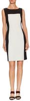 Josie Natori Cotton Textured Fit And Flare Dress