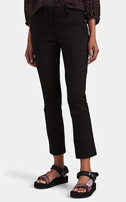 Frame Women's Cavalry Twill Slim Crop Pants - Black