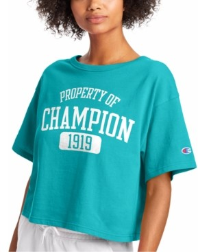 Champion Heritage Cotton Cropped T-Shirt