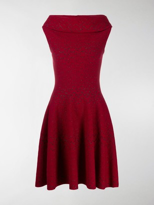 Alaia Rome knitted dress