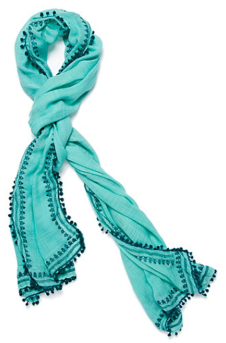 Lucky Brand Textured Solid Scarf