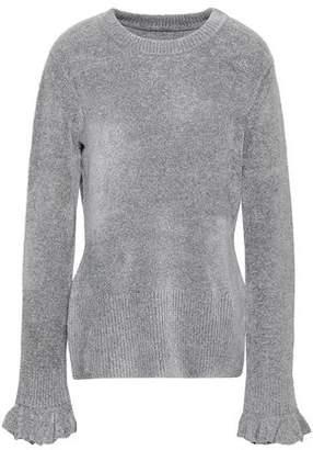 Elie Tahari Embla Metallic Knitted Sweater