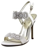 Adrianna Papell Gabriella Women Open Toe Canvas Sandals.