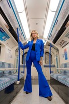 Little Mistress X Ashley James x Ashley James Blue Tailored Blazer Co-ord
