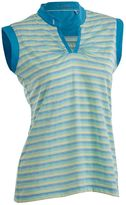 Women's Nancy Lopez Dizzy Sleeveless Golf Polo