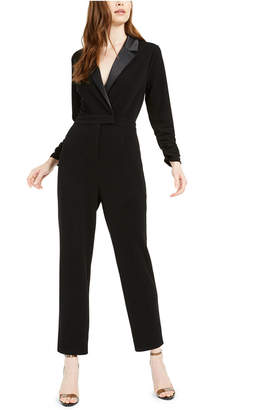 Bar III Tuxedo Jumpsuit