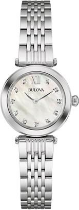 Bulova Women's Quartz Watch with Stainless-Steel Strap