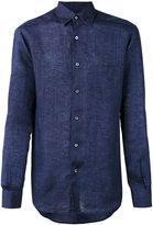 Ermenegildo Zegna long sleeve shirt - men - Linen/Flax - S