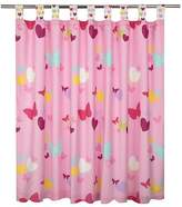 George Home Butterfly Hearts Curtains - 66 x 54 inch