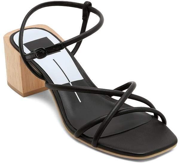 Dolce Vita Women's Zayla Wooden Block Heel Sandals