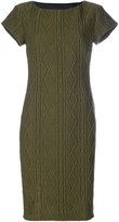 Moschino textured cable dress - women - Acrylic/Polyester/Wool - 40