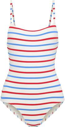 Solid & Striped + Re/done The Nina Striped Swimsuit