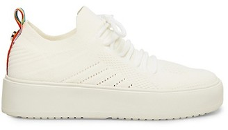 Steve Madden Brixie Mesh-Knit Platform Sneakers