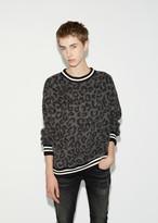 R 13 Leopard Sweatshirt