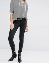 Maison Scotch Skinny Jeans With Zips