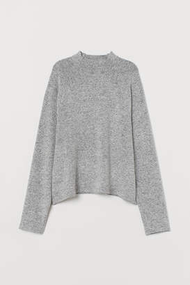 H&M Stand-up collared top