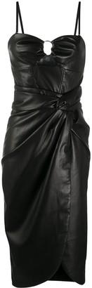 Jonathan Simkhai Wrap Detail Bustier Dress