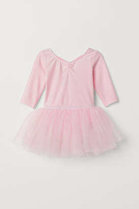 H&M Leotard with Tulle Skirt - Pink