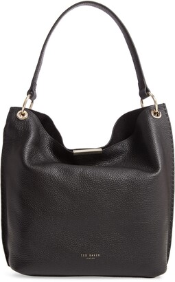 Ted Baker Helgesoft Leather Hobo Bag