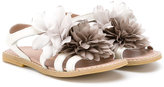 Duca Heritage - flower sandals - kids - Cotton - 28
