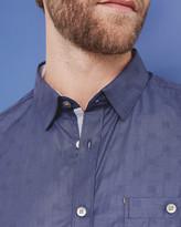 Ted Baker Cotton dobby shirt