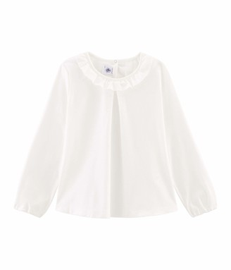 Petit Bateau Girl's Tee Shirt Ml_4964701 Long Sleeve Top
