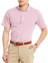 Daniel Cremieux Big & Tall Performance All-Day Graph Check Short-Sleeve Stretch Woven Shirt