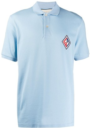 Gucci Embroidered Logo Patch Polo Shirt