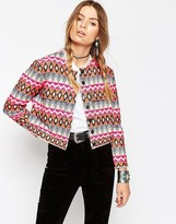 Asos Premium Embroidered Jacket