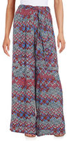 Ella Moss Chevron-Print Soft Pants