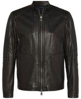 Hugo Boss Nartino Lambskin Racing Jacket 40R Black