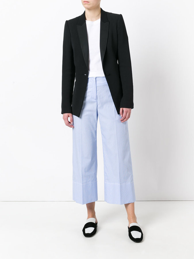 Ermanno Scervino striped cropped pants