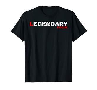 Rogue Life Bad Boy Armed Forces Military T Shirts Rogue Army Slogan For Men Women Kids Cool Rebel Tough Guy T-Shirt