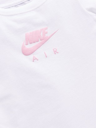 Nike AirYounger Girls Short Sleeve Tee - White