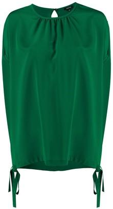 Aspesi Silk Short Sleeve Blouse